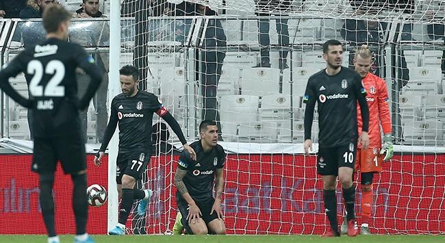 Beşiktaş Vodafone Parkta galibiyeti unuttu