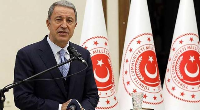 Bakan Akar: Yunanistandan uluslararası hukuka göre davranmasını bekliyoruz