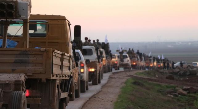 ÖSO birlikleri Münbiçteki cephe hatlarına gidiyor