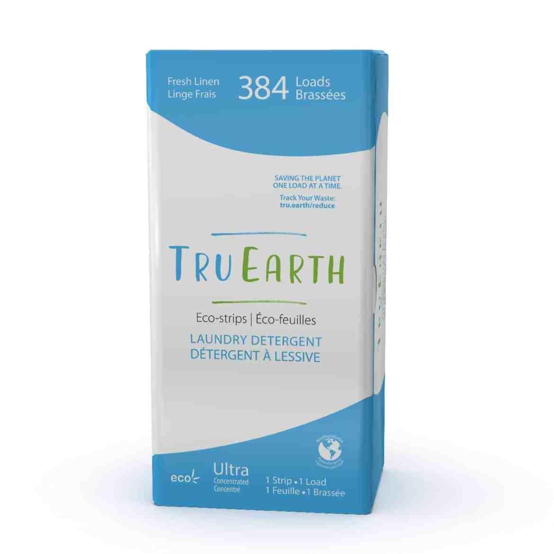 Tru Earth - Tru Earth Eco-strips Laundry Detergent (Fresh Linen) – 384 Loads   NOW: $149.00