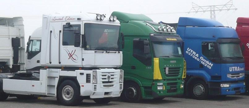 Truck Team Börner - Nutzfahrzeuge unserer Spedition