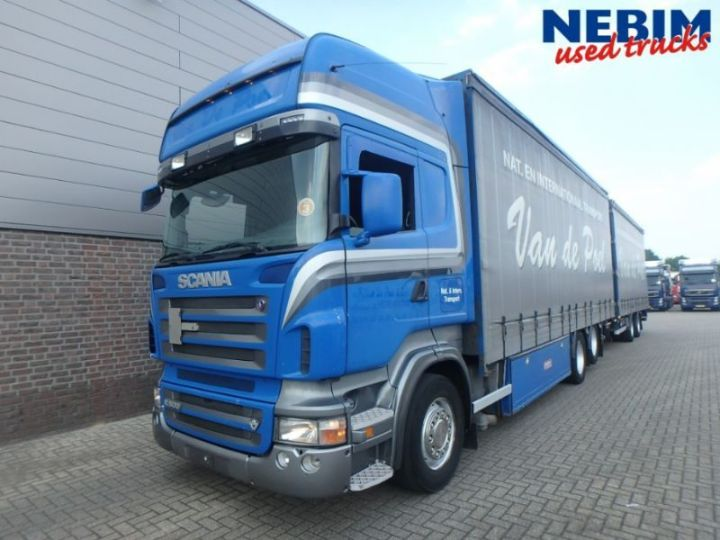 Curtainsider Truck Scania R500 V8 6x2 Euro 3 Renders Trailer Picture 1