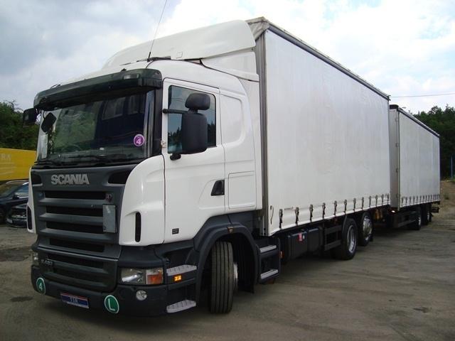 Curtainsider Truck Scania R420 Lb 6x2 Mlb 120m3 Euro4 2pcs Picture 1