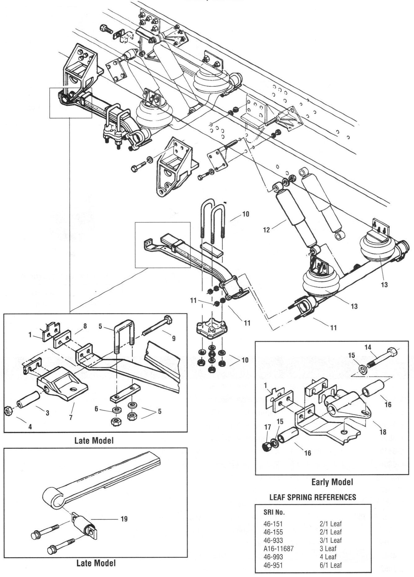 Freightliner Drive Shaft Diagram
