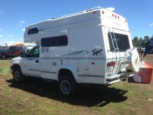 Tiger Motorhome at the 2015 Overland Expo