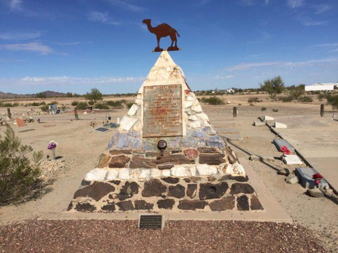 Hi Jolly's Gravemarker - Quartzsite - Truck Camper Adventure