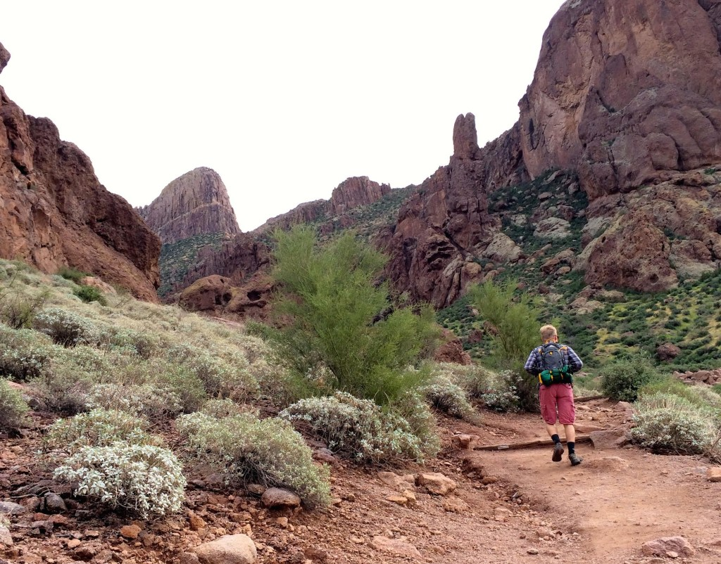 Superstition Mountains Hike