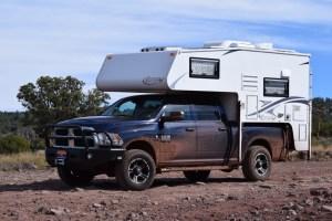 Sedona - Schnebly Hill Road - Northstar Laredo SC Truck Camper