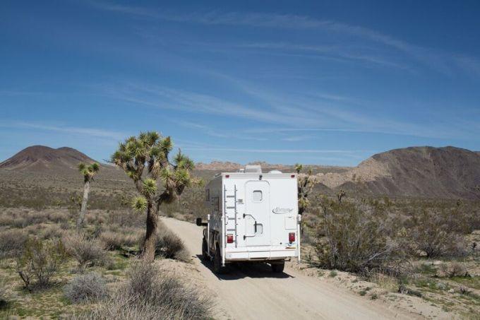 Joshua Tree National Park - Geology Tour Road - Truck Camper Adventure