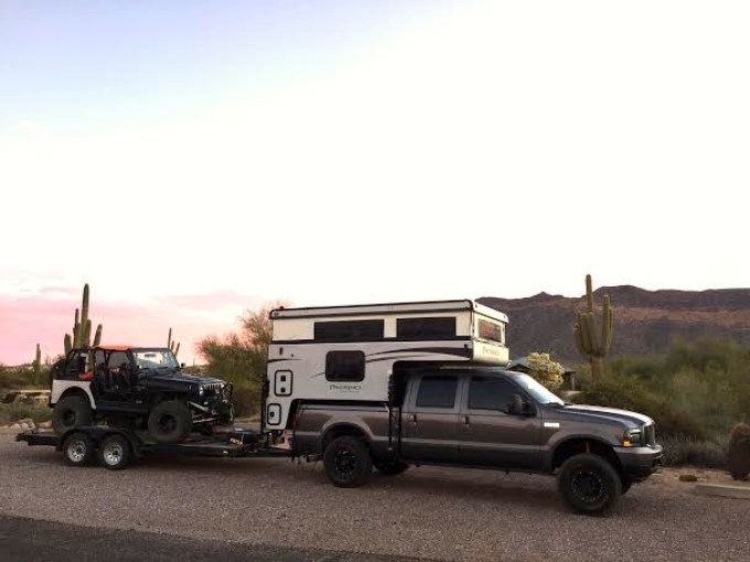 Ford F-350 and 2016 Palomino 1250 Popup - Truck Camper Adventure