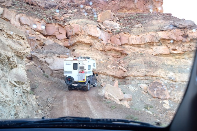 Canyonlands White Rim Trail - The Hardscrabble - Truck Camper Adventure