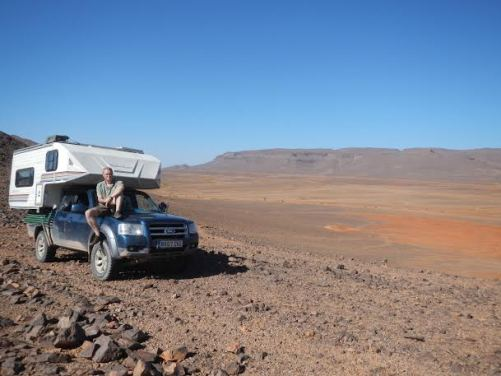 Steve Blackman Off-Road Truck Camper Enthusiast-Sahara