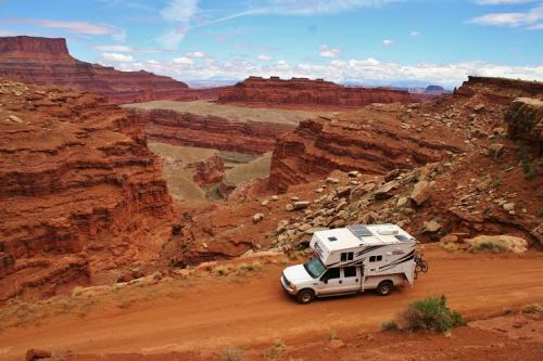 white rim trail sturgeon - truck camper adventure