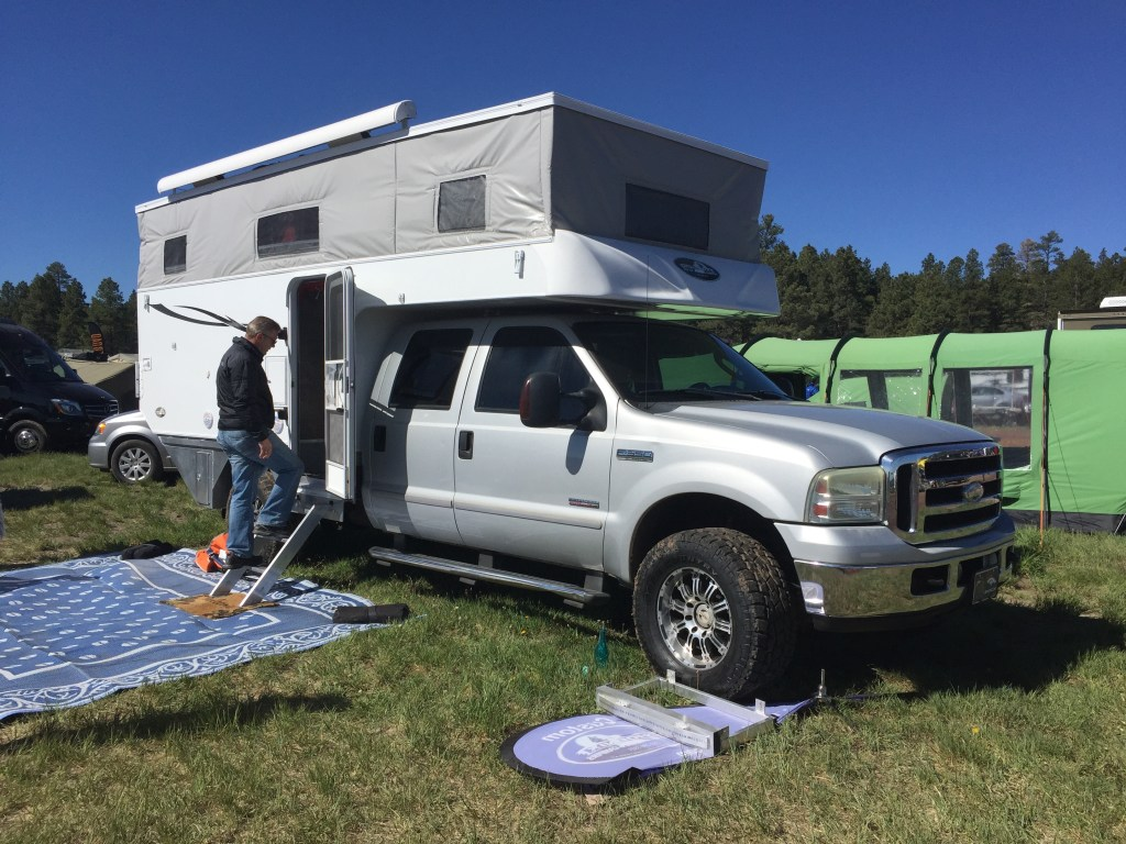Phoenix HD Pop-up Camper - Overland Expo - Truck Camper Adventure