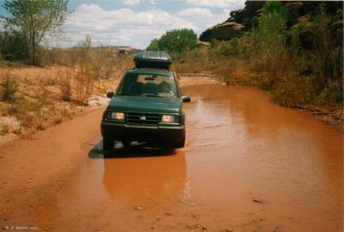 Chevy Tracker - Salt Creek - Truck Camper Adventure