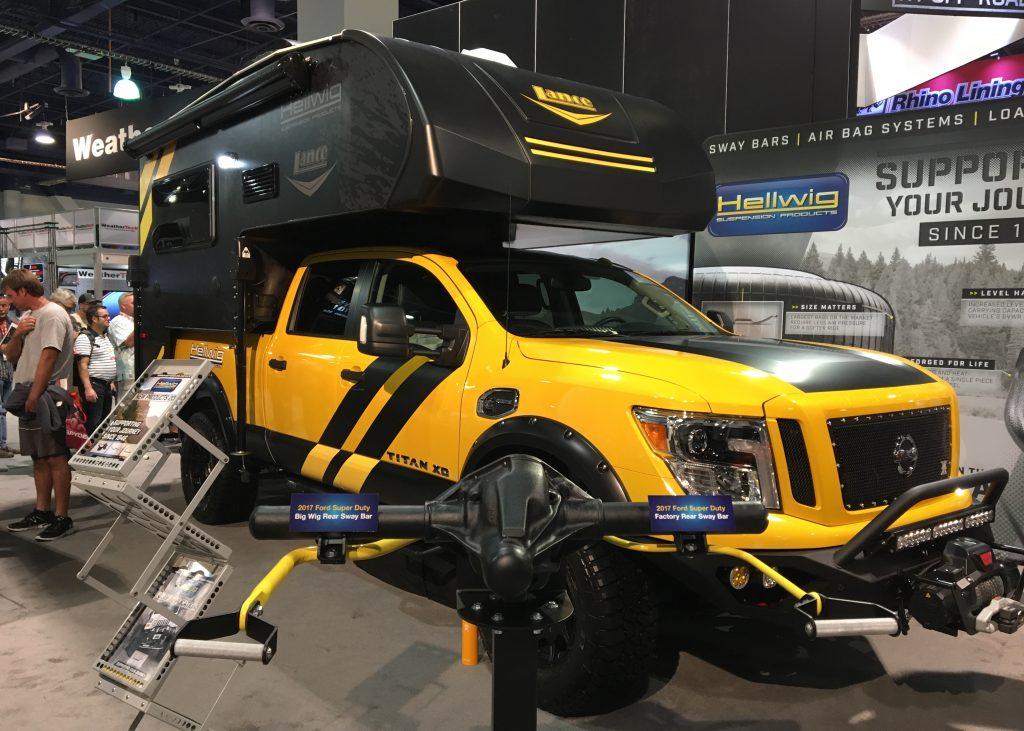 2016 SEMA Las Vegas - Ultimate Adventure Rig - Rule Breaker - Truck Camper Adventure