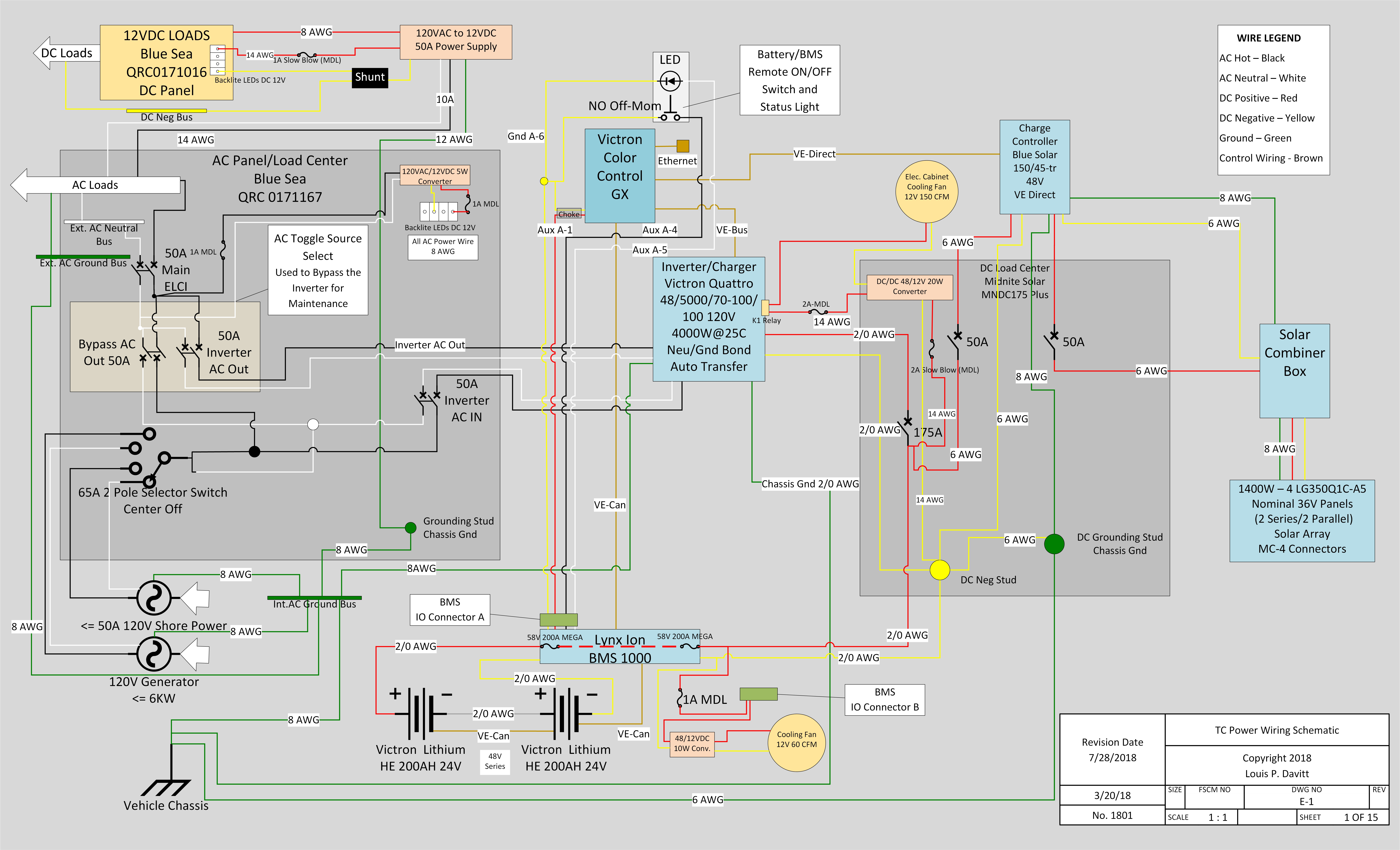 A Mad Scientist's Take on the Ultimate Electrical System ... Abyc Wiring Diagrams on
