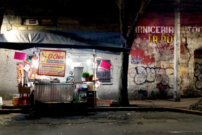 food stand, mexico city