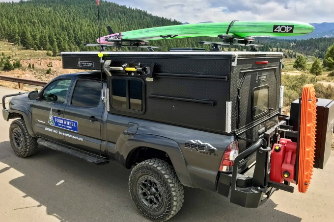 Toyota Tacoma Four Wheel Camper Project M
