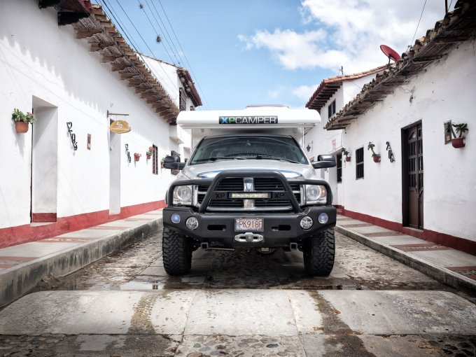 xpcamper and dodge ram 3500 colombia