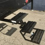 Review Of The Easy Hitch Step For Truck Campers Truck Camper Adventure