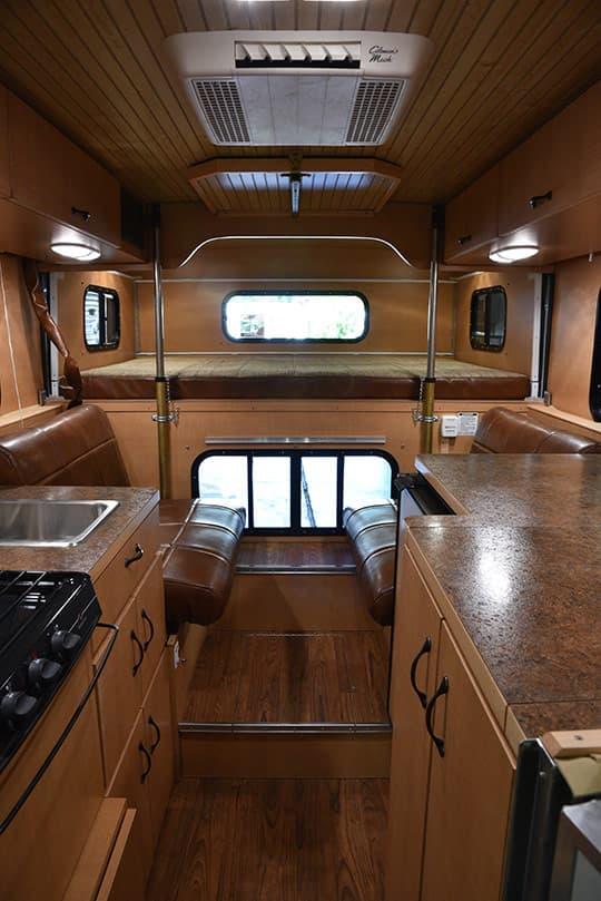 Custom Step Van Interior