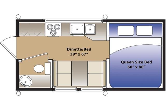 Plans Floor Truck Camper