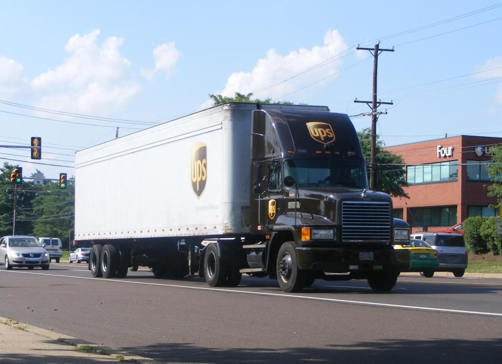 UPS truck company