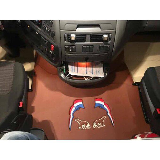 capot moteur adaptable daf gamme tvs avec ou sans broderie trucketvanshop