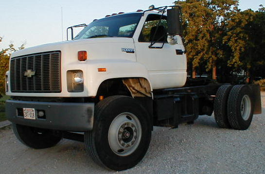1995 Chevrolet C7000 Single Axle Diesel Tractor P2068