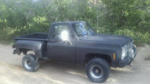 New chick with a 79 Chevy Stepside  Truck Forums