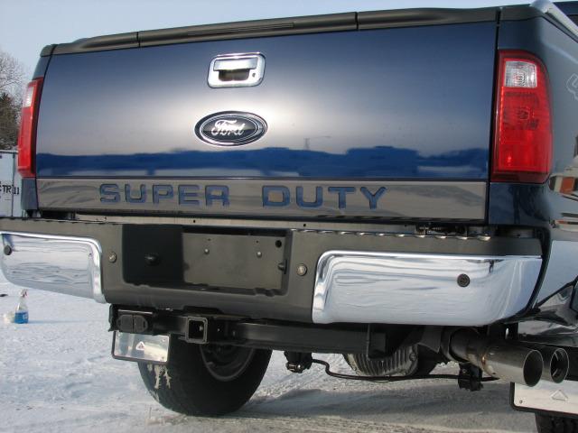 Truck Hardware Truck Hardware Super Duty Tailgate Insert