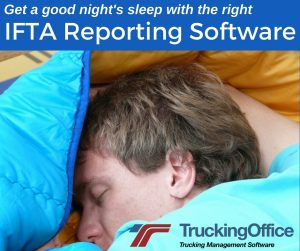 Get a good night's sleep with IFTA reporting software
