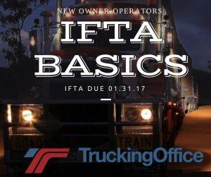 IFTA basics for new owner operators