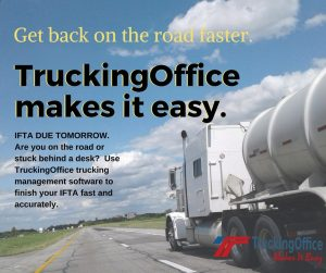 IFTA filing with TruckingOffice TMS