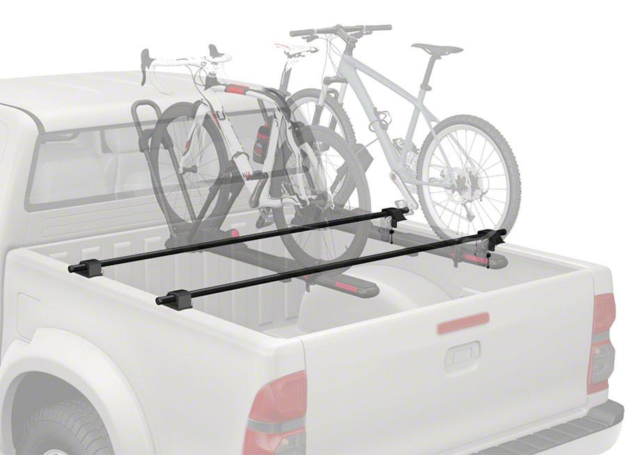 3 BIKES MOTORCYCLE RACK FOR TRUCK BED MX3 BED BAR