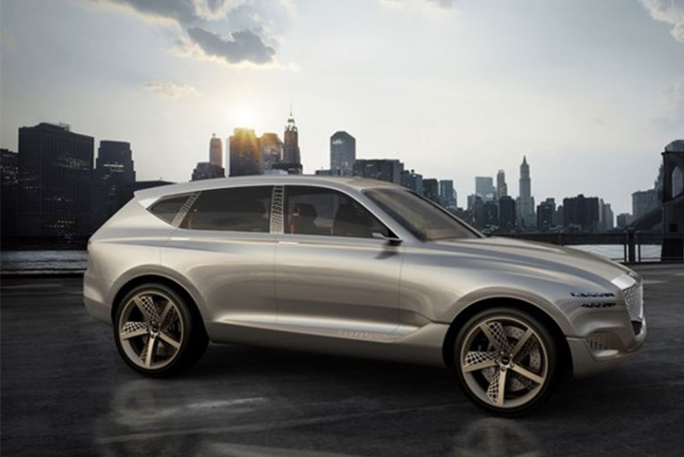 New York Auto Show  Genesis Surprises With GV80 Large SUV Fuel Cell     Genesis GV80 concept   Photo  Genesis