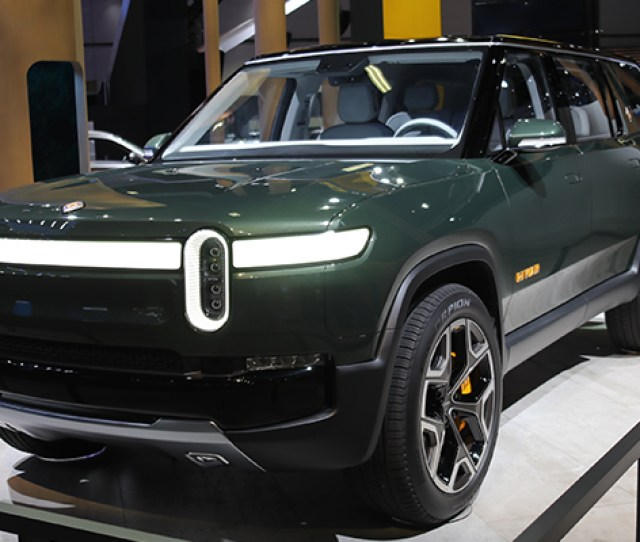 One Of The Trucks Com Staffs Picks For Top Vehicles At The Los Angeles Auto Show The Rivian R1s Suv Photo Brian Williams For Trucks Com