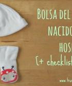 Bolsa del recién nacido para el hospital