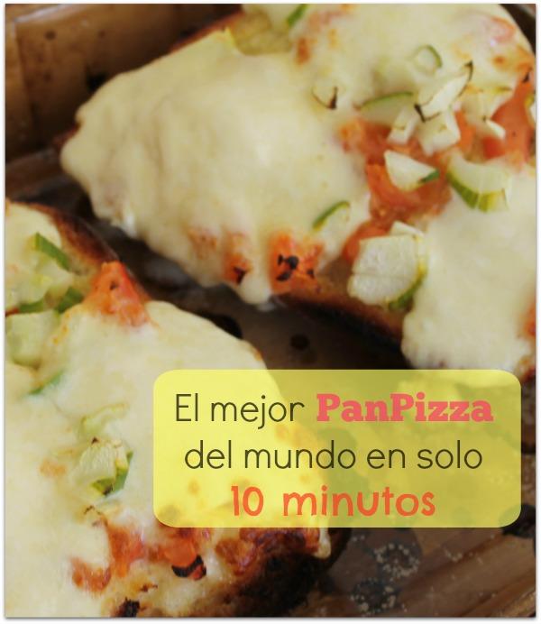 El mejor PanPizza del mundo en solo 10 minutos
