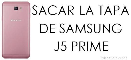 abrir carcasa samsung j7