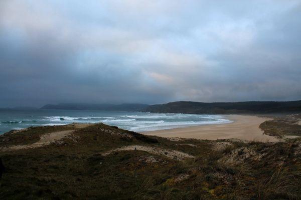 Praia do Rostro - Rostro Beach Muxia Finisterre Galicia