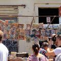 a visit to El Rastro flea market in madrid