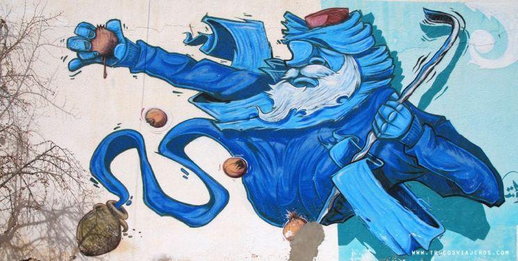 Tunisian magic street art Djerbahood
