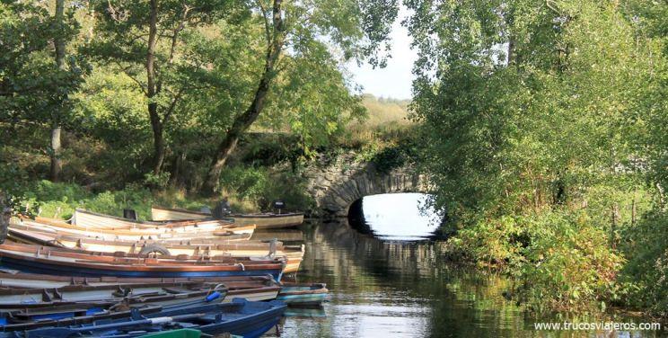 barcazas Killarney parque nacional
