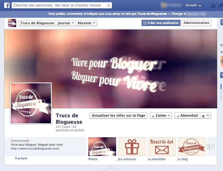 Comment Personnaliser Sa Page Facebook Blogueuse