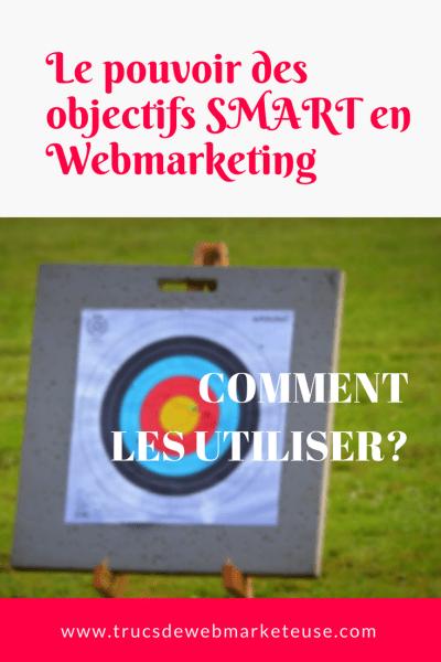 les objectifs SMART en Webmarketing