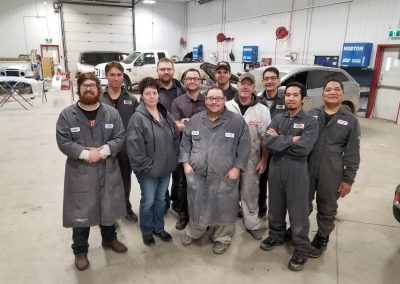 The staff at Trudel Autobody