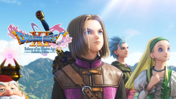 DRAGON QUEST XI S: Echoes of an Elusive Age - Definitive Edition ~ TitledHeroArt