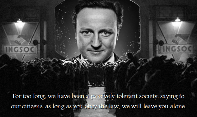 A real and very worrying quote from British Prime Minister David Cameron has caused many Brits to wonder whether democracy even exists.